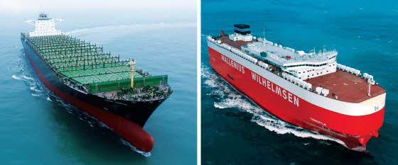 Two Ships Named Significant Ships of the Year